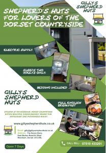 Gilly's Shepherd Huts